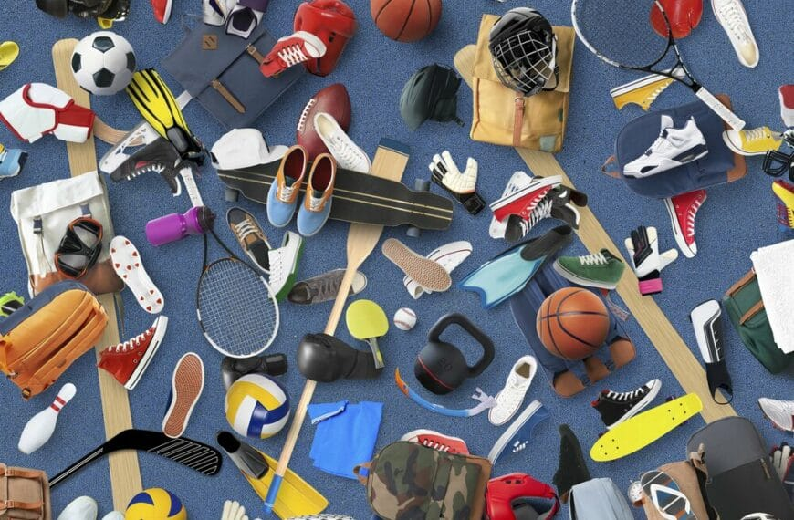 What Sporting Equipment You Need In Your Life