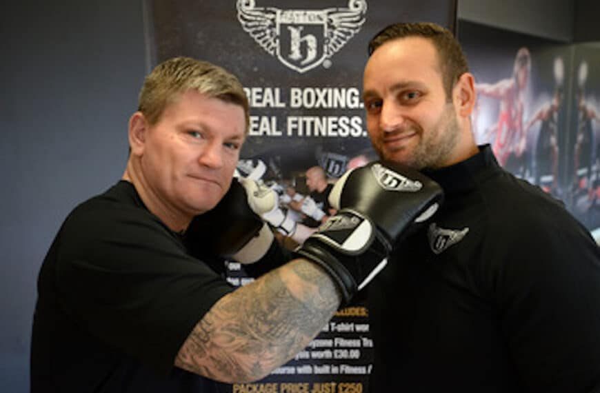Ricky Hatton Introduces Hatton Boxing To Bannatyne Health Clubs