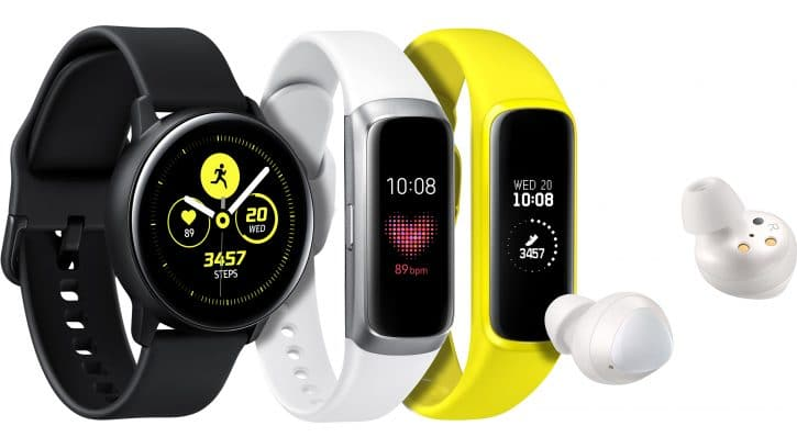 Samsung Introduces Three New Wearables for Balanced and Connected Living