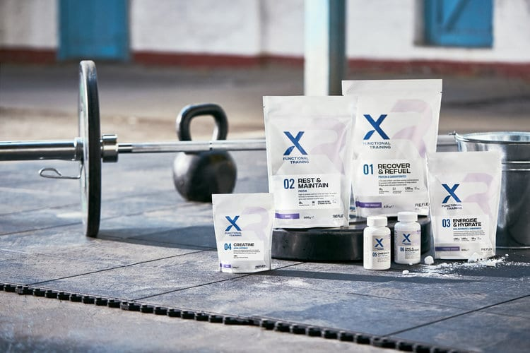 Targeted Nutrition Range For Cross Functional Training Athletes
