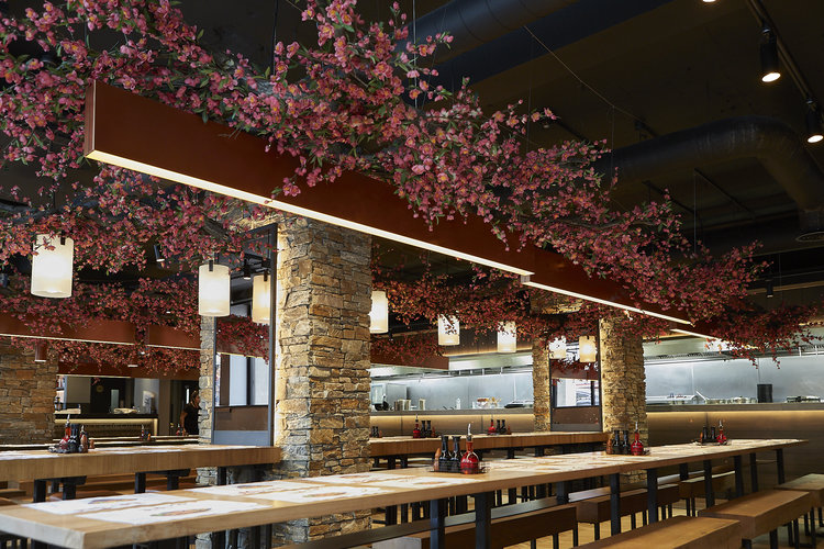 Wagamama Welcomes Spring With Amazing Hanami Installations