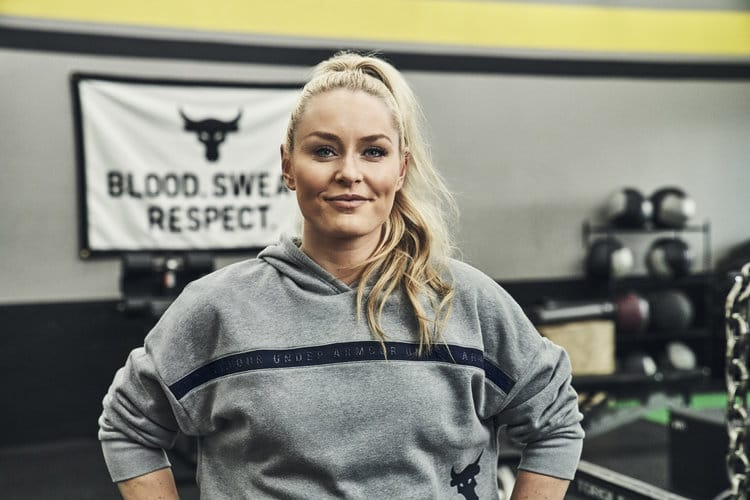 Project Rock Welcomes Lindsey Vonn