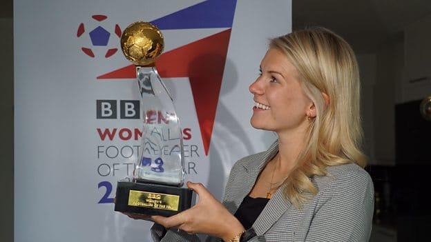 Ada Hegerberg wins BBC Women's Footballer of the Year 2019