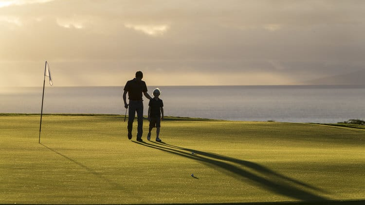 Golfers of all ages will find a choice of ways to enjoy the stunning Manele Golf Course
