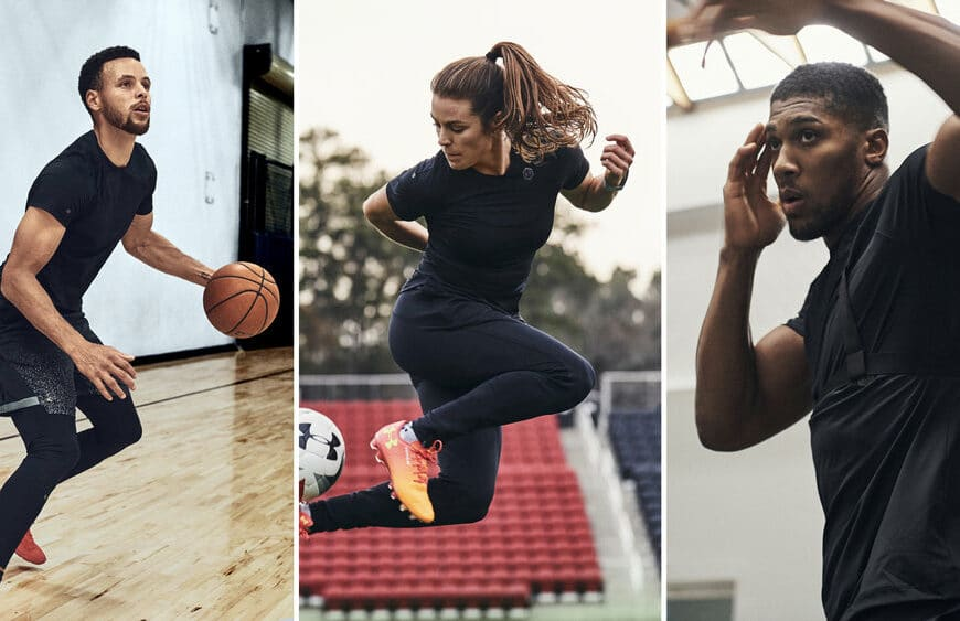 How Stephen Curry, Kelley O'Hara and Anthony Joshua Are Using Under Armour RUSH to Sustain Greatness