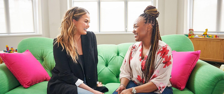chrissy teigen leads social mums campaign