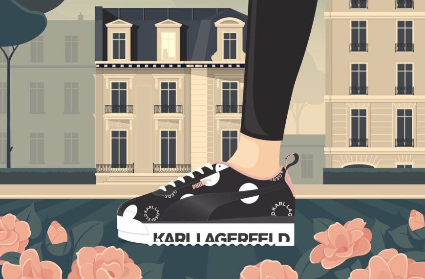 Collectible Trainer Fuse's Streetwise Swagger With A Touch Of Lagerfeld's Classic Sophistication