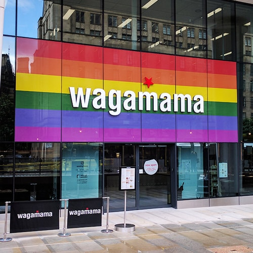wagamama announce their commitment to gender neutral bathrooms