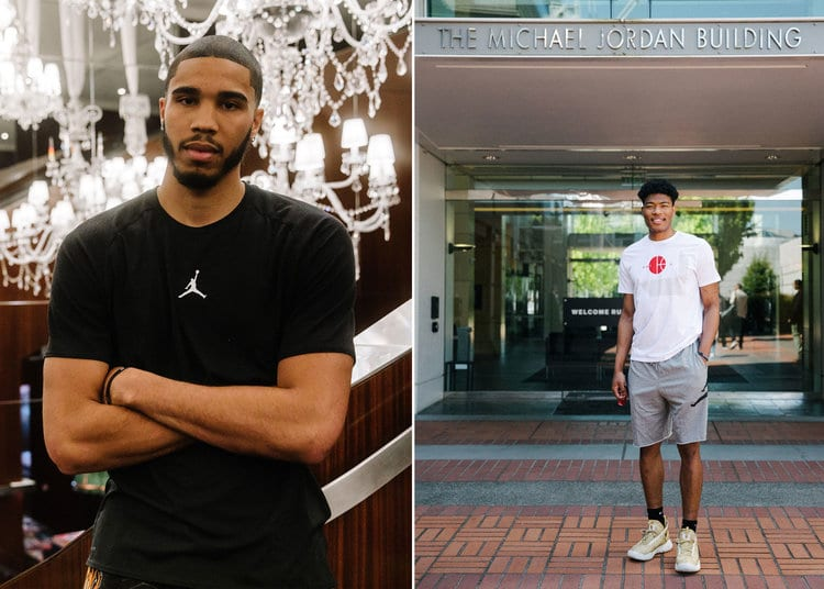 Jordan Brand Welcomes Jayson Tatum and Rui Hachimura to its Basketball Roster