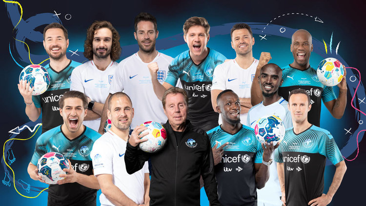 Premier League Legends, Cantona, Keane, Pires and Essien All to Star in Soccer Aid World XI!