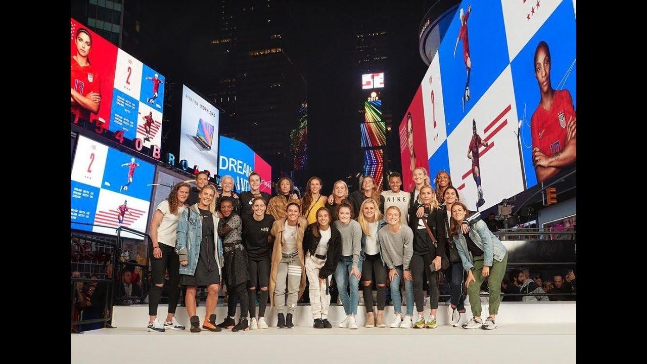 Nike Football Celebrates USANetherlands 2019 Final