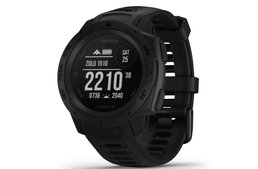 A Rugged GPS Watch Built To Withstand The Toughest Environments