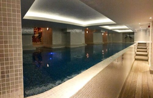 spa swimming pool and gym