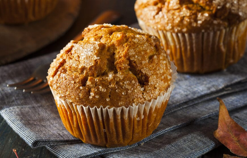 Protein Packed Paleo Pumpkin Muffins Recipe Ready For Halloween