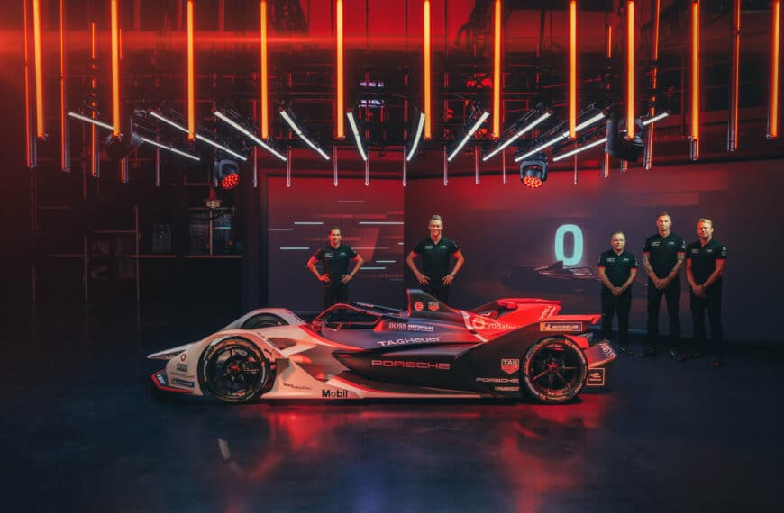 TAG Heuer becomes Title and Timing Partner of the Porsche Formula E Team