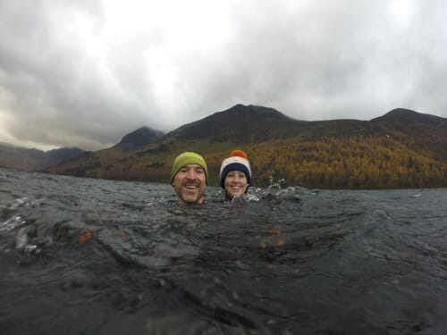 Wild Swimmers Celebrate Winter Solstice in English Lake District This Weekend