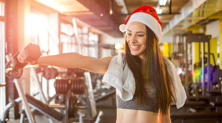 Five Expert Tips For Staying In Shape Over The Festive Season