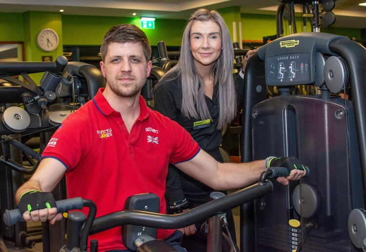 Bannatyne Health Club Supports Veteran's Training To Compete In The Invictus Games