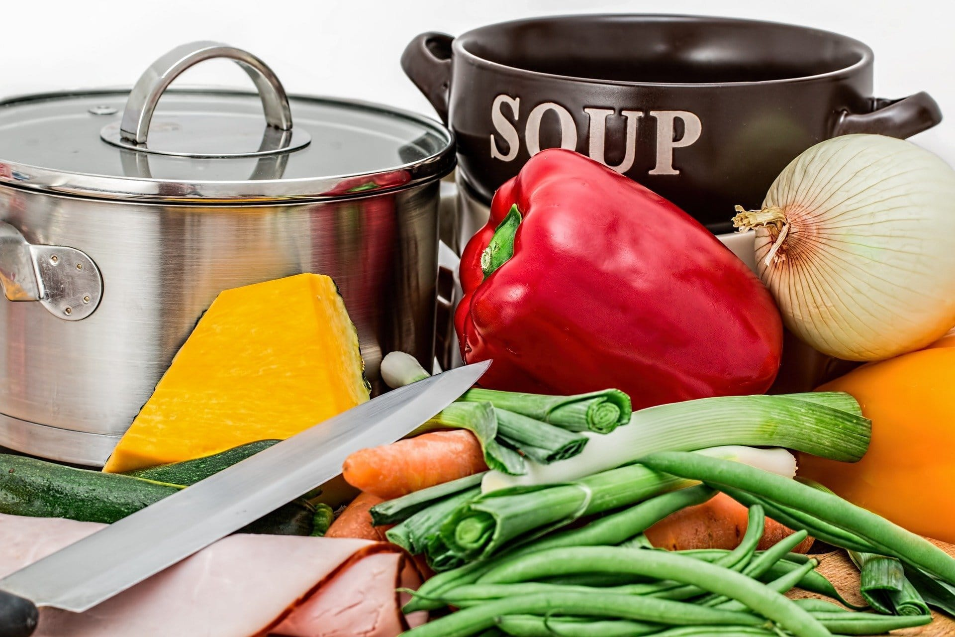 healthy foods to put in soup