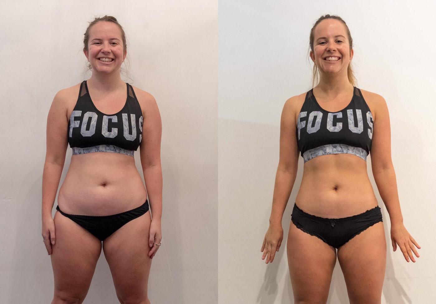 fitness woman in gym wear