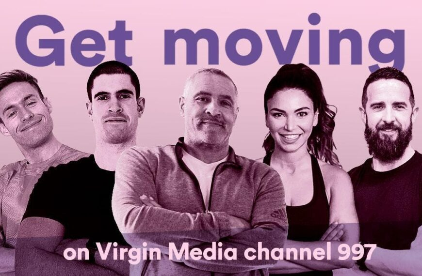 Daley Thompson Launches New Free Fitness Channel on Virgin Media