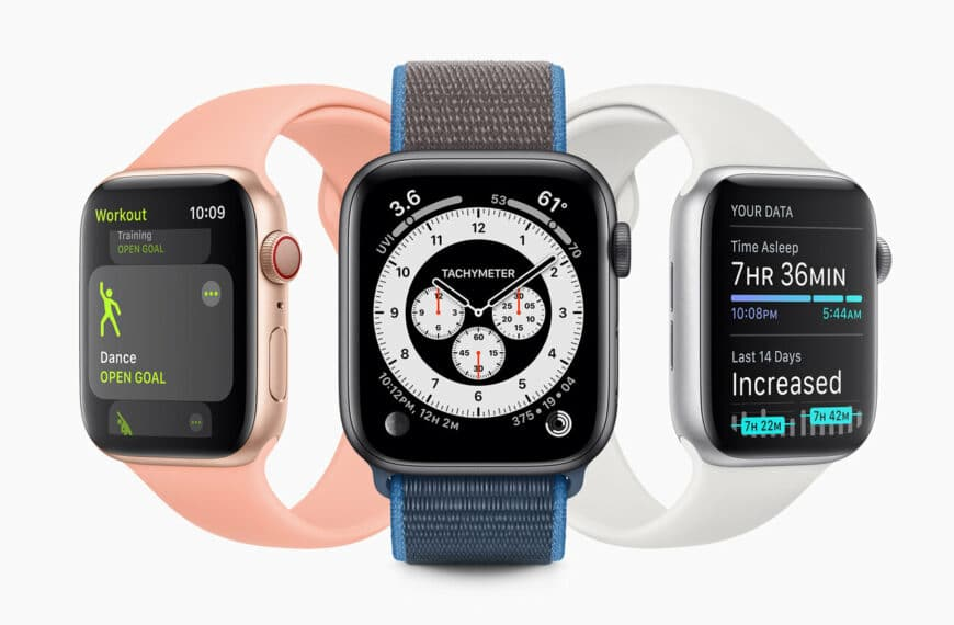 WatchOS 7 Adds Significant Personalisation, Health, And Fitness Features To Apple Watch