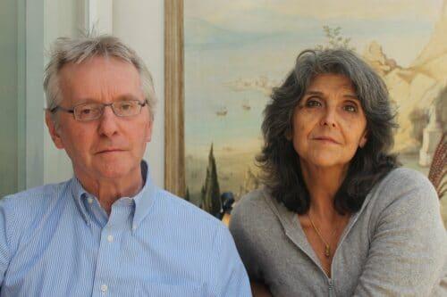 Udo Kischka and wife.....