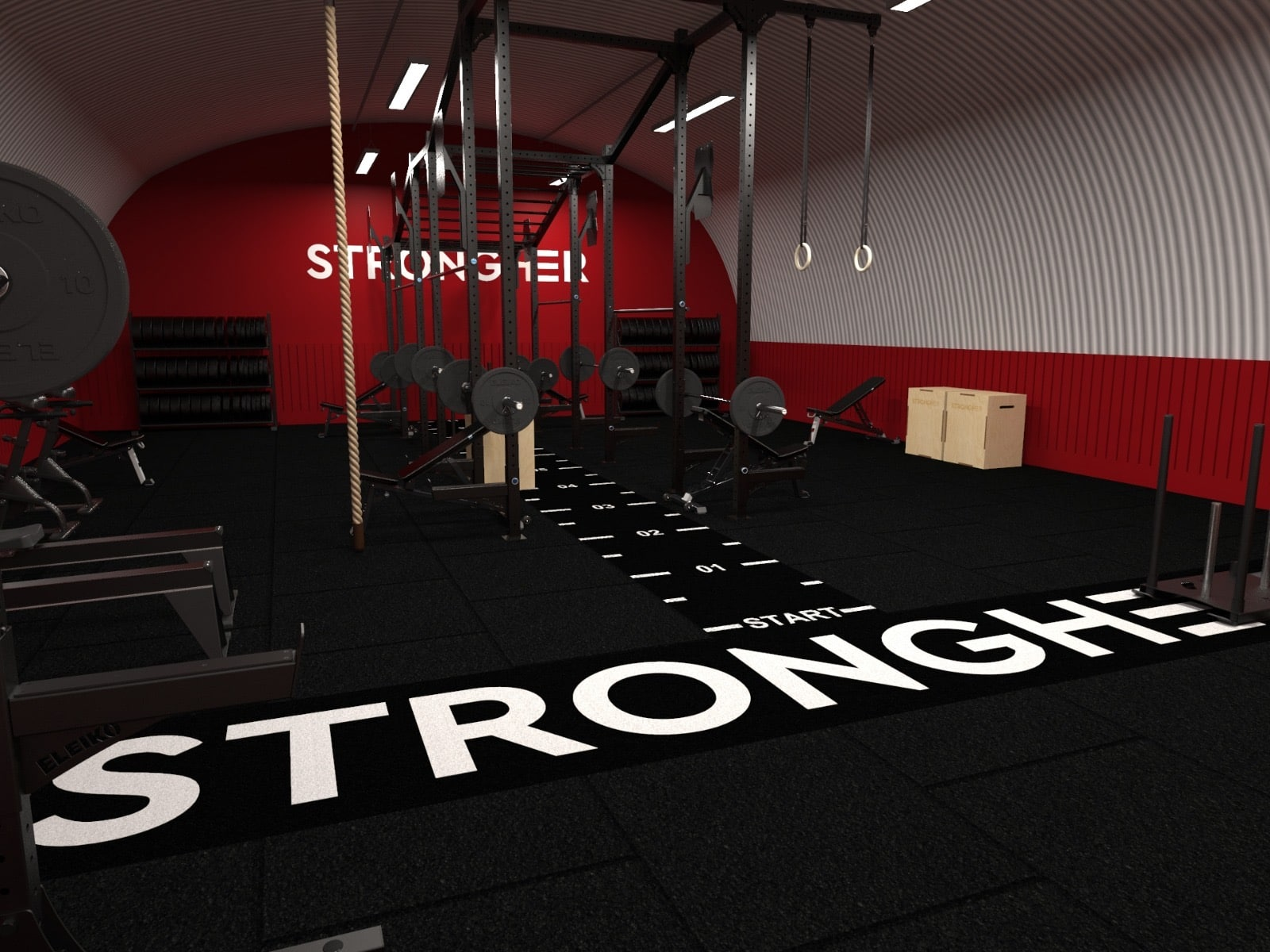 'Strongher Space' London's First Strictly Women-only Fitness Studio