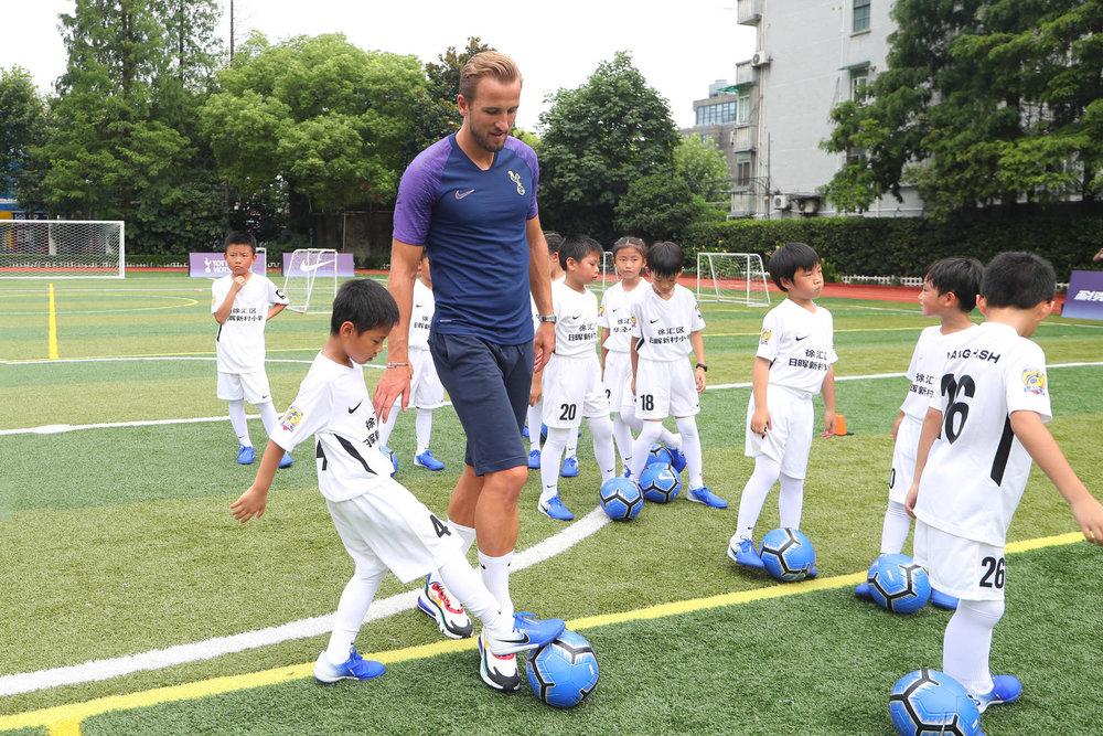 Tottenham Hotspur Football in Shanghai