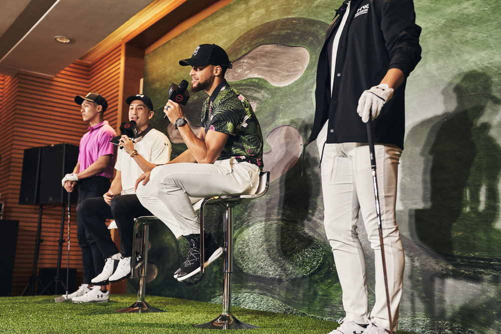 Stephen Curry: From The Court To The Course