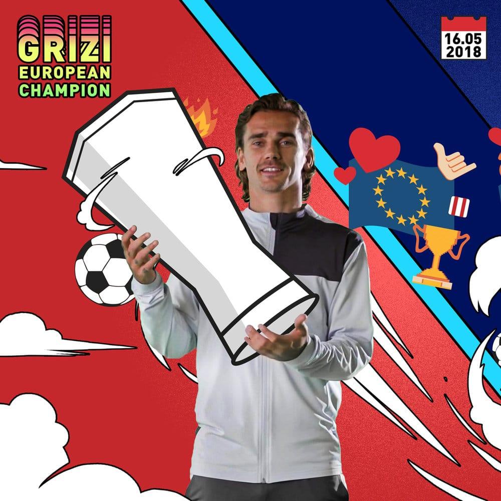 19AW Social IG TS Football Griezmann Special