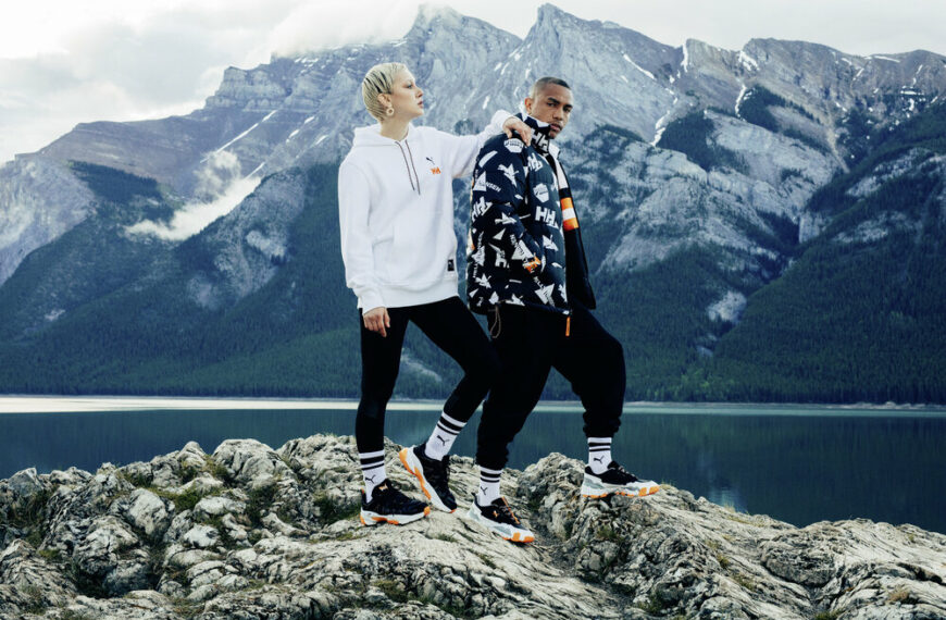 PUMA X HELLY HANSEN Join Forces With Their First Collection Full Of 1990's Vibes