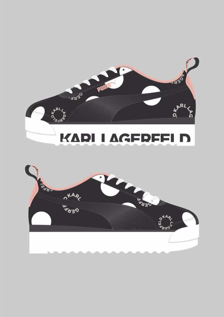 19SS xSP Karl Lagerfeld AMOR Side