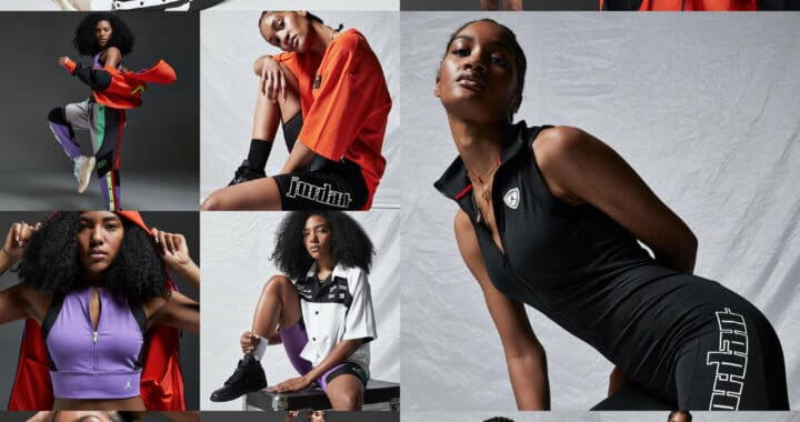 The Nike Jordan Women's Moto Collection is Undeniably Feminine and Functional