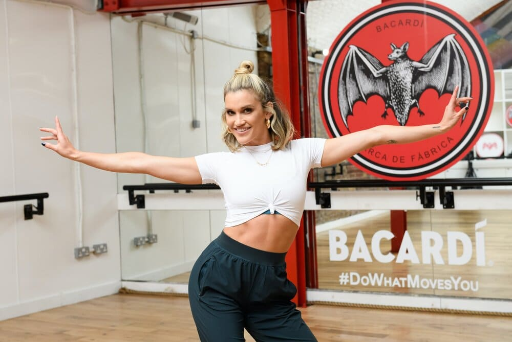 Ashley Roberts On Taking Cold Showers To Boost Her Mood and Being Solo In Lockdown