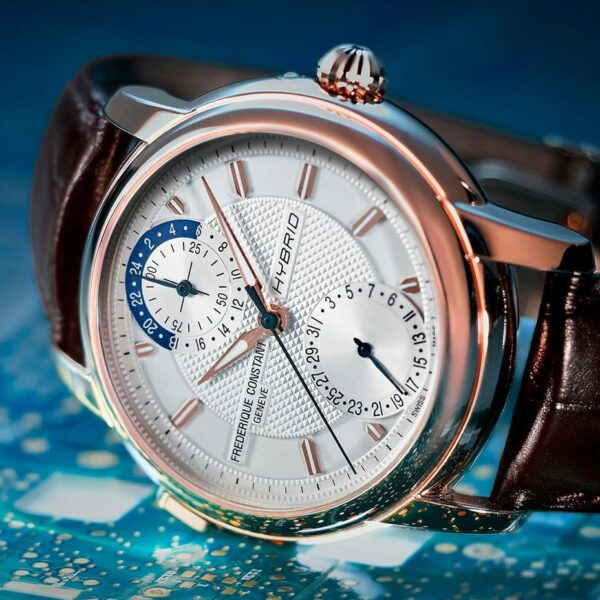 Frederique Constant Adds New Dial Animations Within Its Hybrid Manufacture Collection