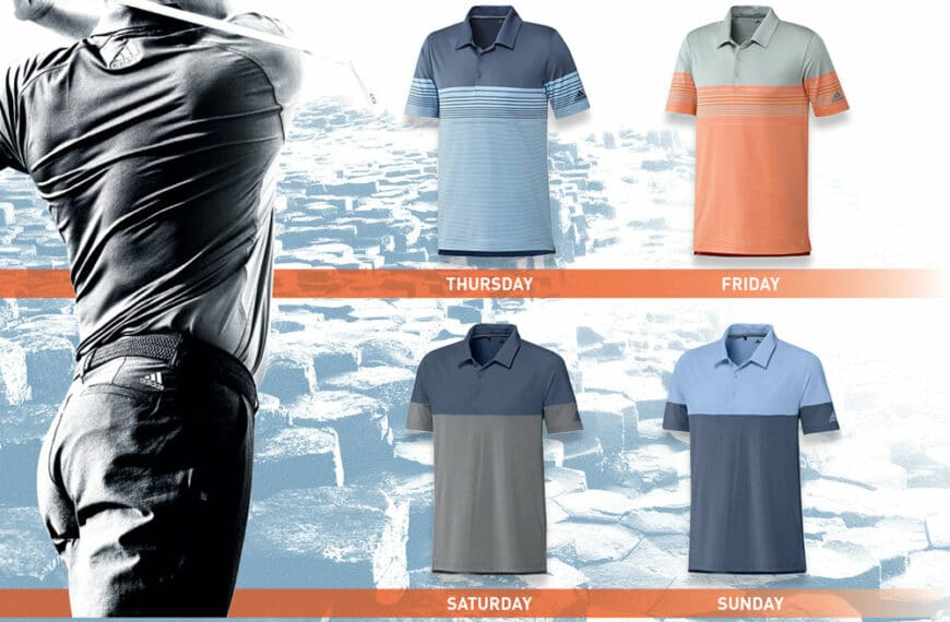 Athlete Apparel For The 148th Open Championship