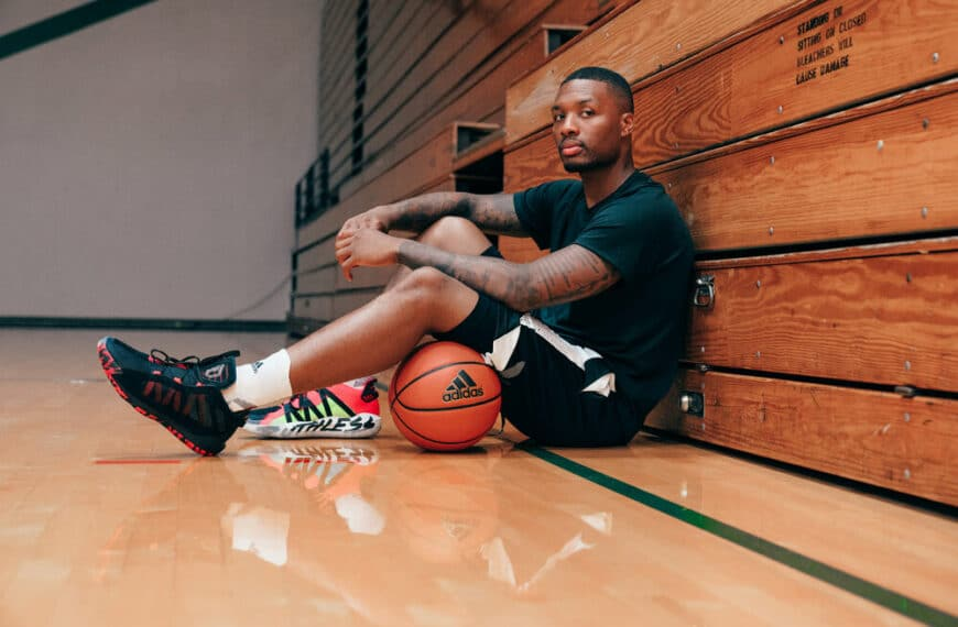 Damian Lillard's Creative Identity On & Off The Court With Dame 6