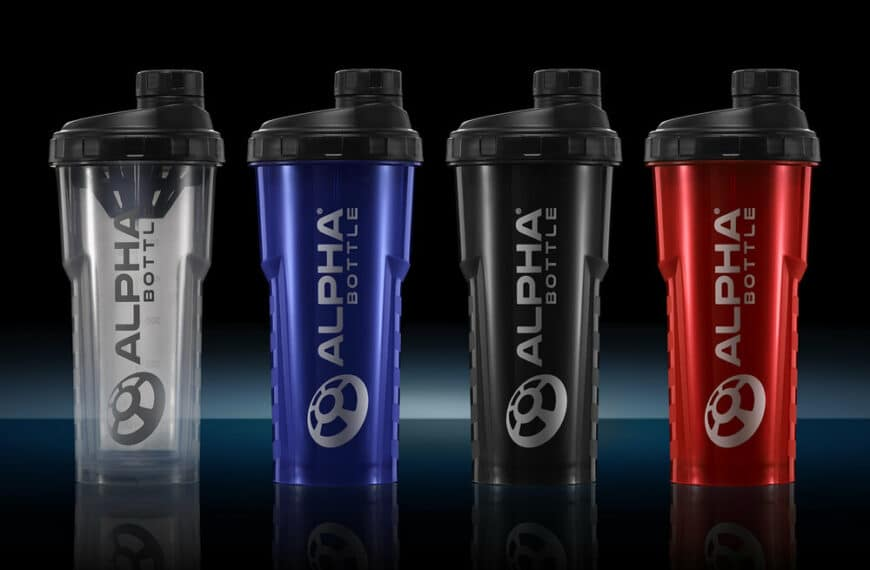 Innovative Antibacterial protein shaker bottle launched to improve hygiene and prevent odours