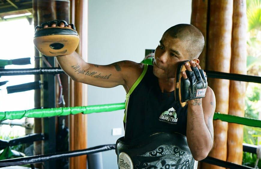 10 Questions With Muay Thai Instructor, Anuphong Deesamer