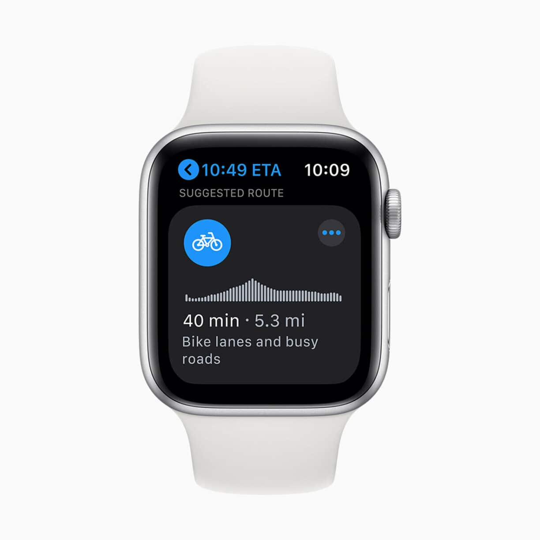 Apple watch watchos7 cycling maps 06222020