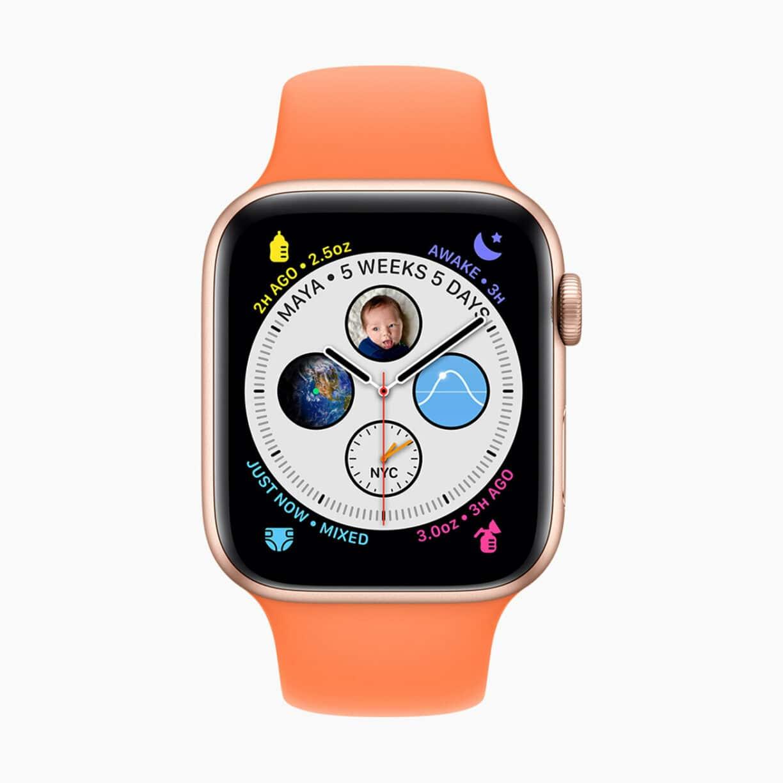 Apple watch watchos7 glow baby screen 06222020