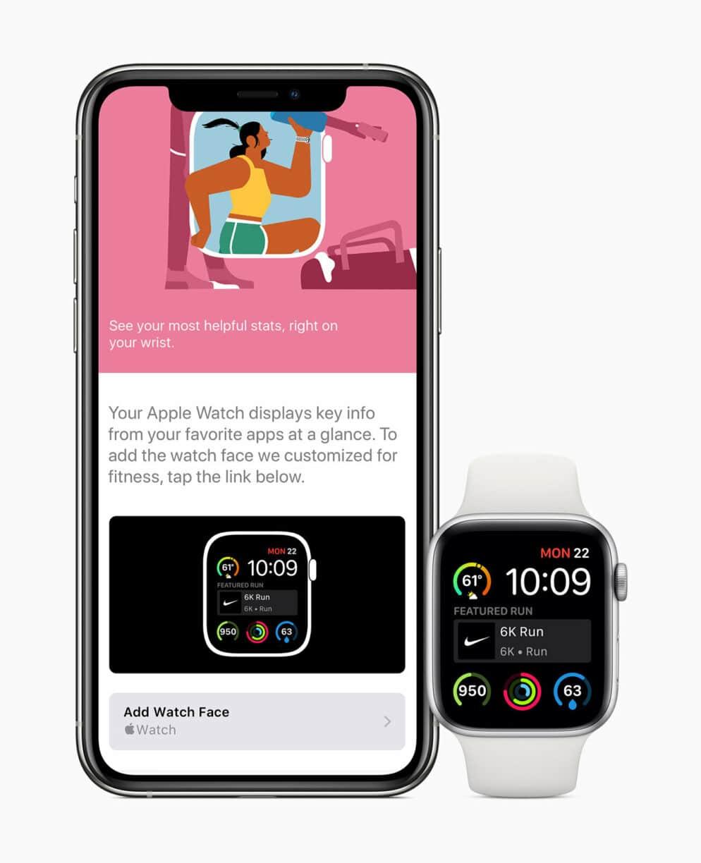 Apple watch watchos7 share add watch face screen 06222020
