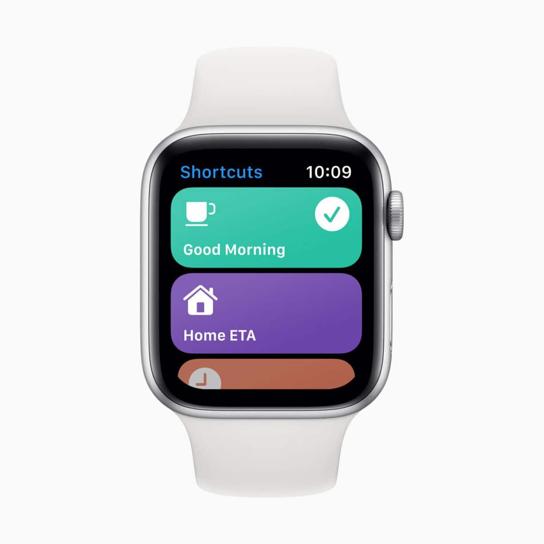 Apple watch watchos7 siri shortcuts 06222020