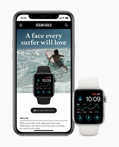 Apple watch watchos7 watch face discovery blog 062222020