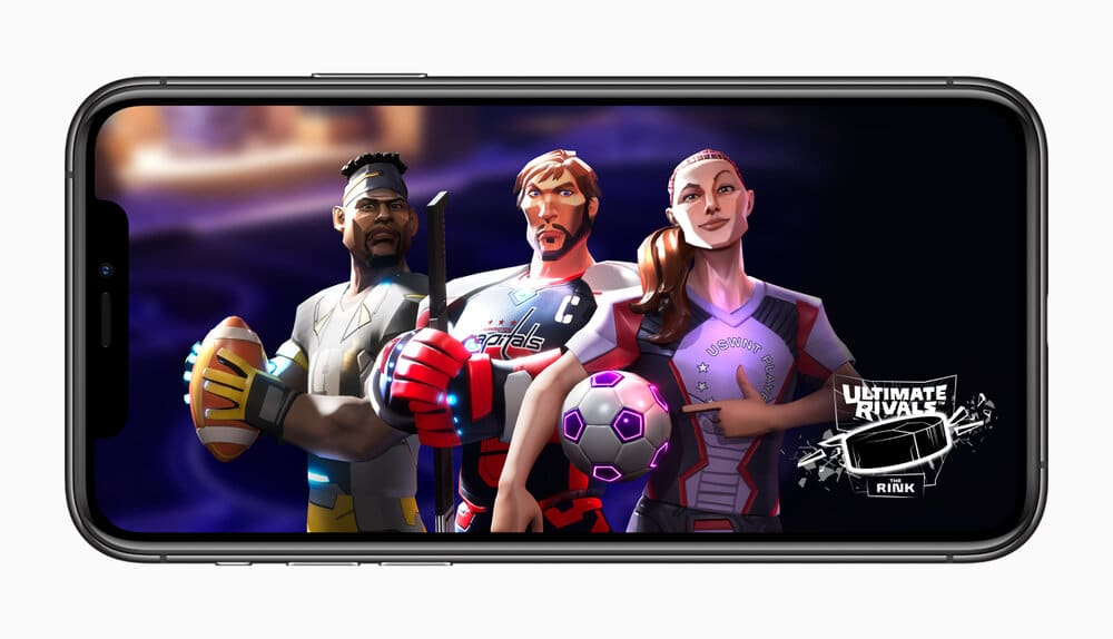 Apple Ultimate Rivals launches on apple arcade 121219