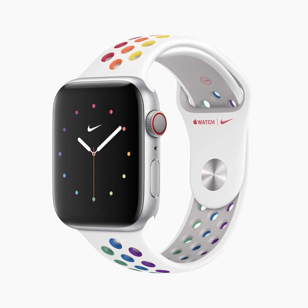 Apple watch s5 l almsvr nike pride ss20 watch pride edition 05182020