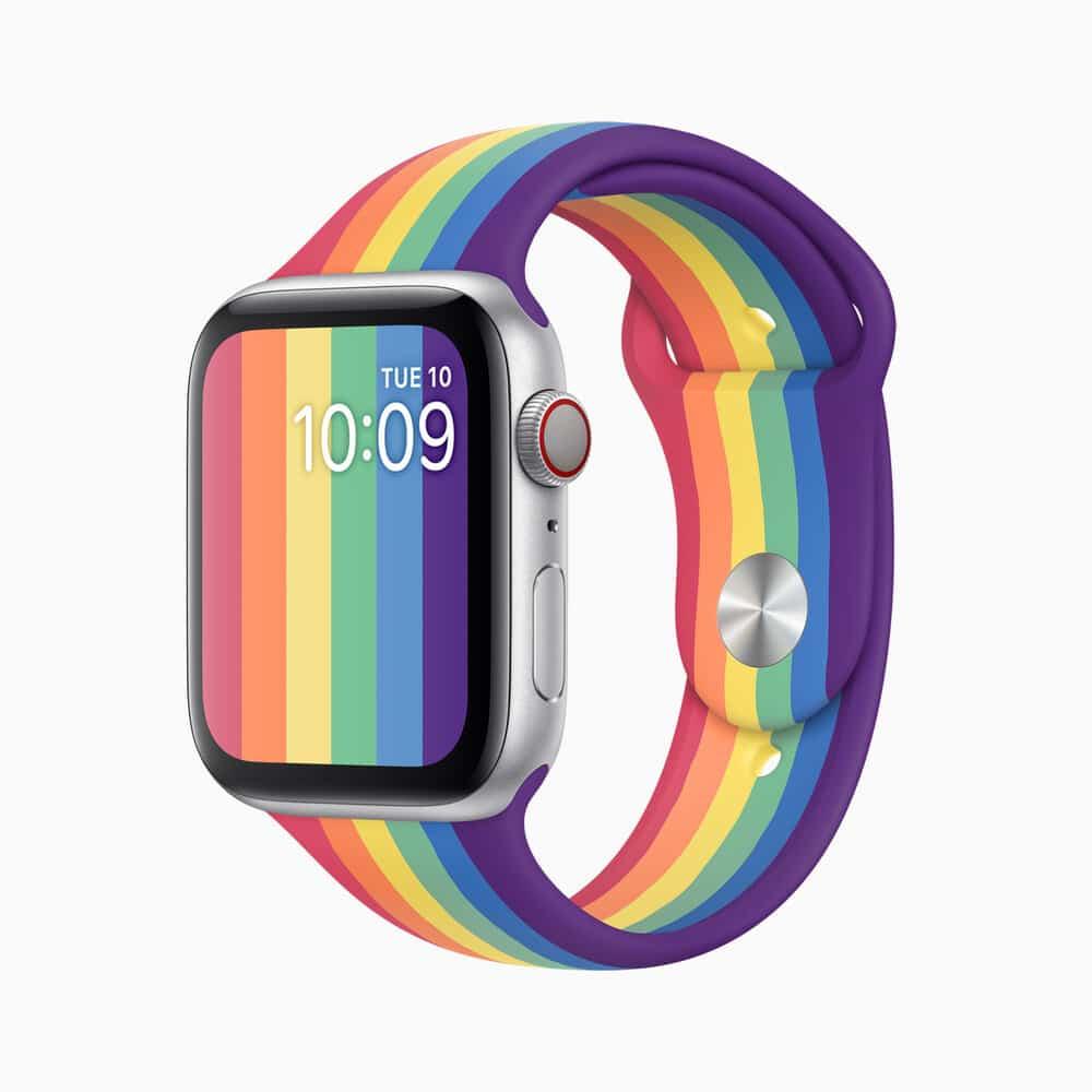 Apple watch s5 l almsvr pride ss20 watch pride edition 05182020