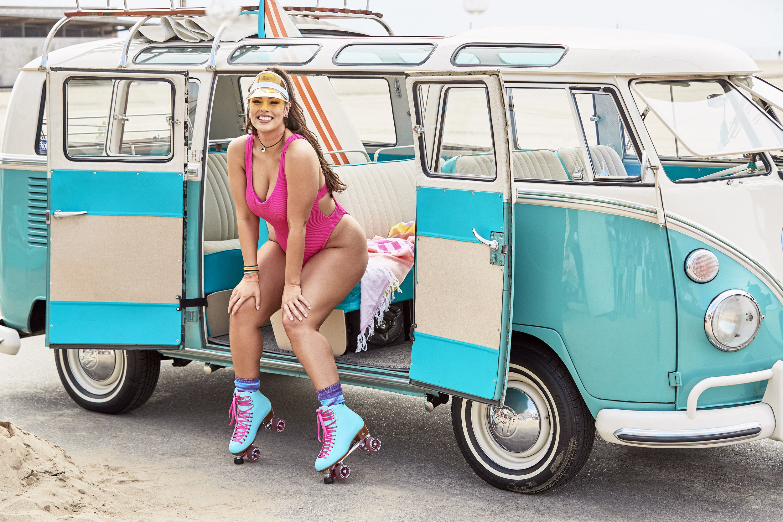 Ashley Graham Goes Retro in Playful New Collection for Swimsuits For All