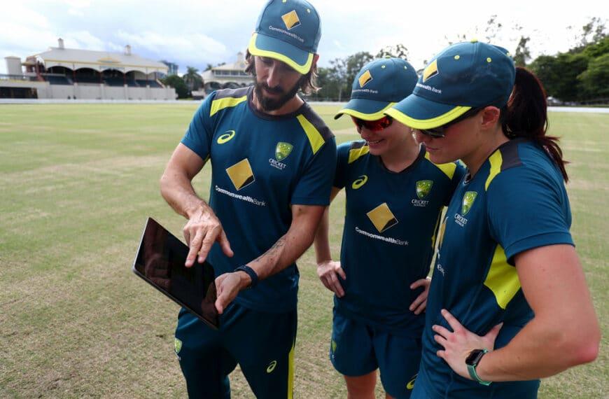 Australia's Women's Cricket Team Uses Apple Watch To Improve Player Performance